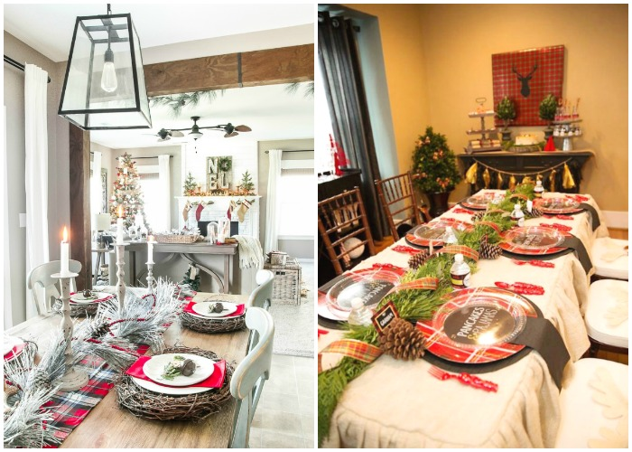 Christmas Tablescapes / Party Ideas