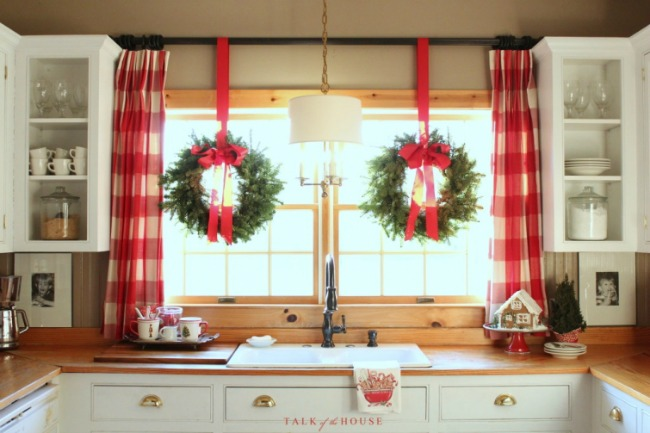 Christmas in the Kitchen, Christmas Inspiration via House of Hargrove
