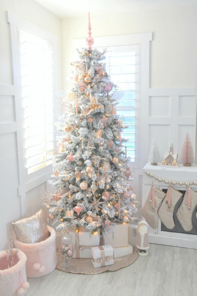 Kara's Party Ideas, Gorgeous Christmas Trees via House of Hargrove