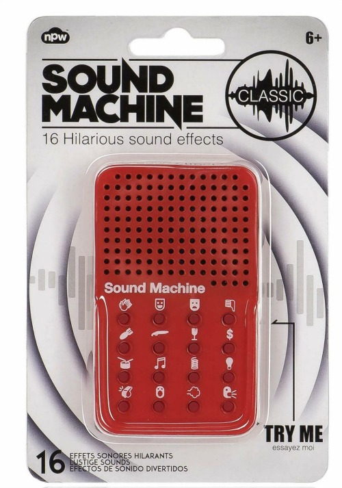 Sound Machine with Hilarious Effects, White Elephant Gift Ideas via House of Hargrove