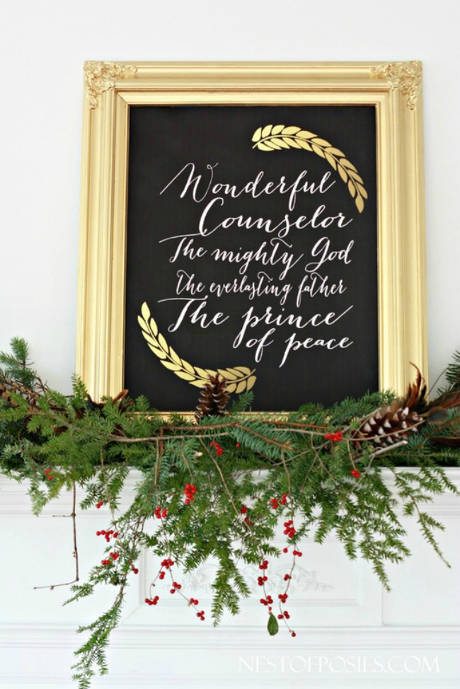The Names of Jesus, Christmas Printables via House of Hargrove