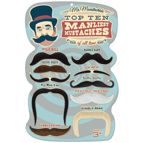 Top Ten Manliest Mustaches, White Elephant Gift Ideas via House of Hargrove