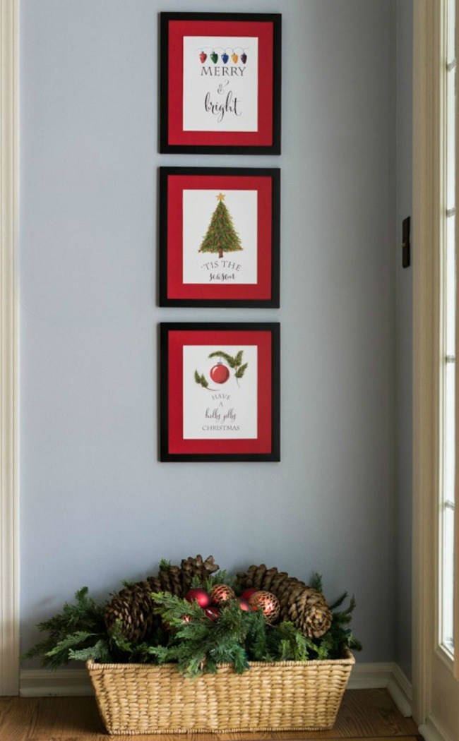 Trio of Prints, Christmas Printables via House of Hargrove