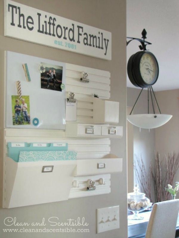 Clean and Scentsible, Organizing Tips and Tricks via House of Hargrove