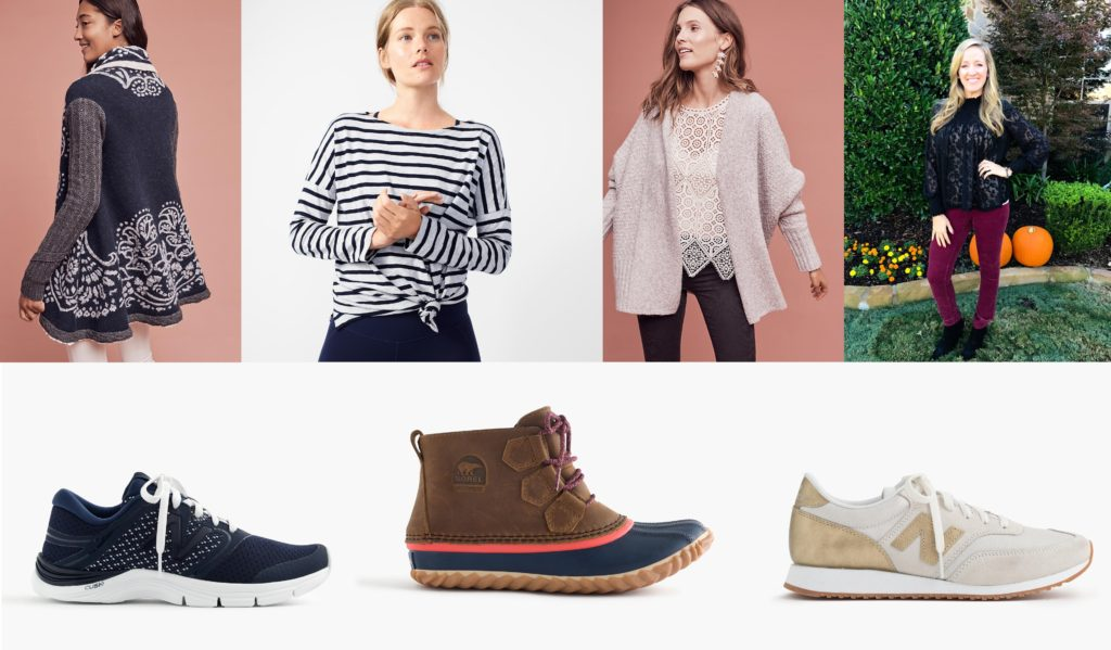 Wear it with Barrett: J. Crew Activewear &  Anthropologie Deals