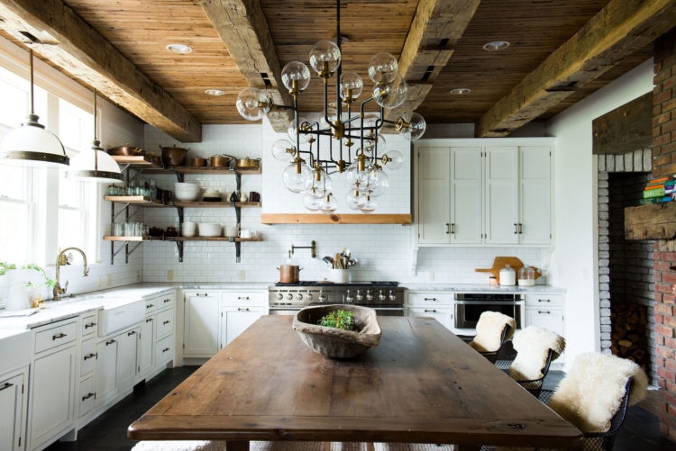 Modern Farmhouse Kitchen Delectable Modern Farmhouse Kitchens  House Of Hargrove Decorating Inspiration