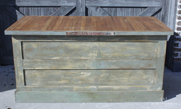 vintage farmhouse kitchen islands antique bakery counter for sale house of hargrove - Farmhouse Kitchen Island