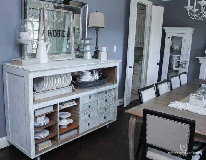 Furniture Find: Hardware Store Counter on Casters