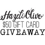 Wear it with Barrett: Great Spring Clothes from Hazel & Olive and a GIVEAWAY!