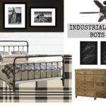 Braden's Industrial Farmhouse Big Boy Room Ideas
