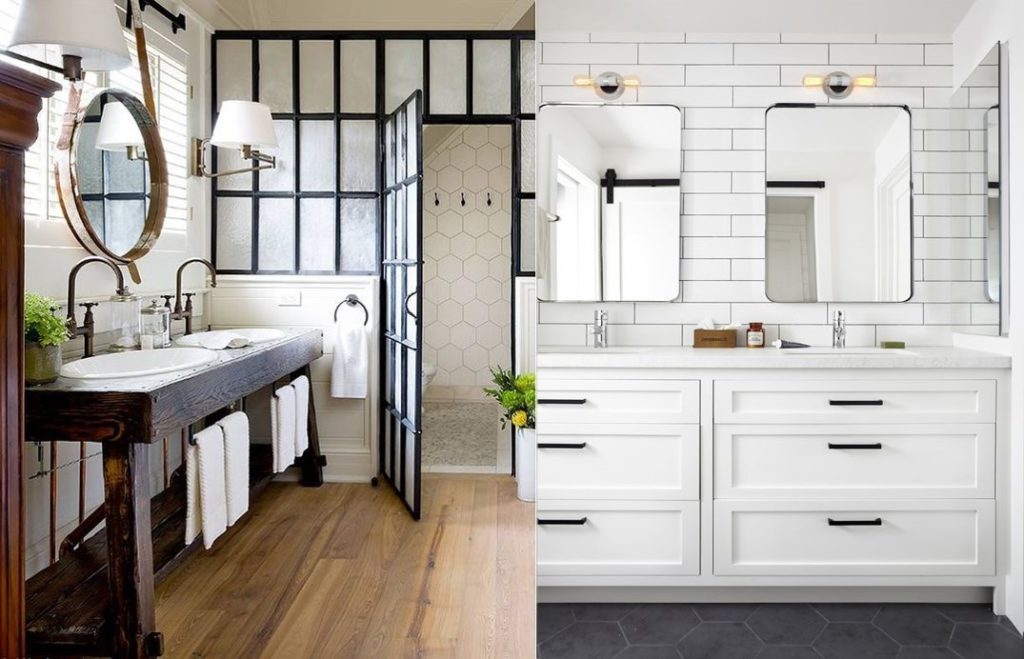 Modern Farmhouse Bathroom Archives House Of Hargrove