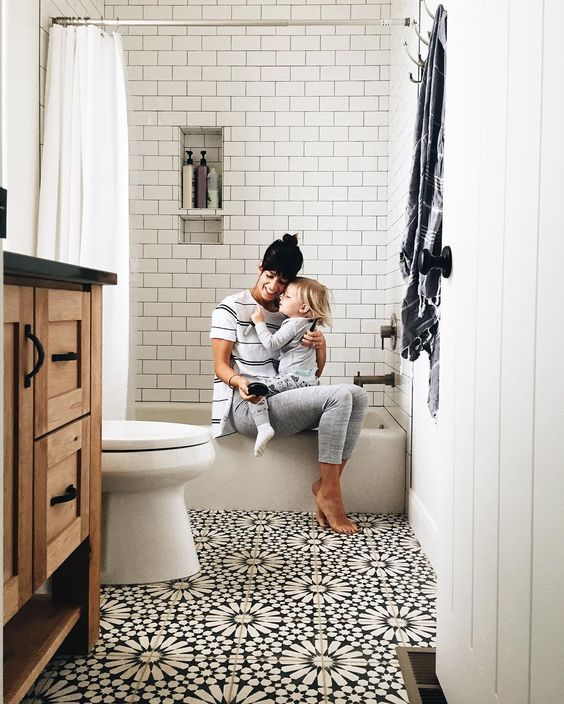 Bathroom Ideas On Pinterest: Modern Farmhouse Bathrooms