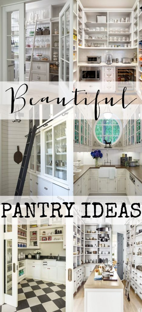 The Most Beautiful Pantries Amp Butler S Pantries Full Of