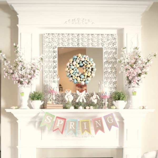 Adventures in Decorating, Easter Decor Inspiration via House of Hargrove