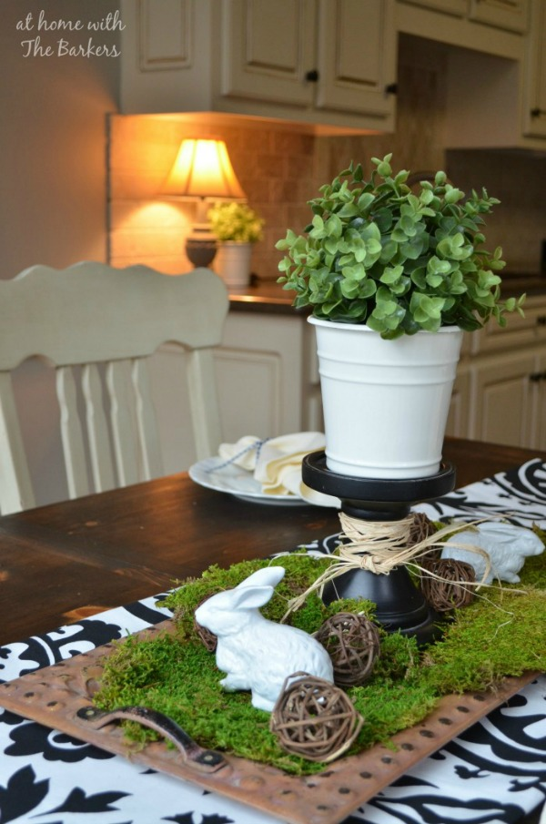 At Home with the Barkers, Easter Decor Inspiration via House of Hargrove