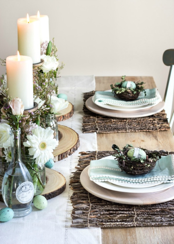 Blesser House, Easter Decor Inspiration via House of Hargrove