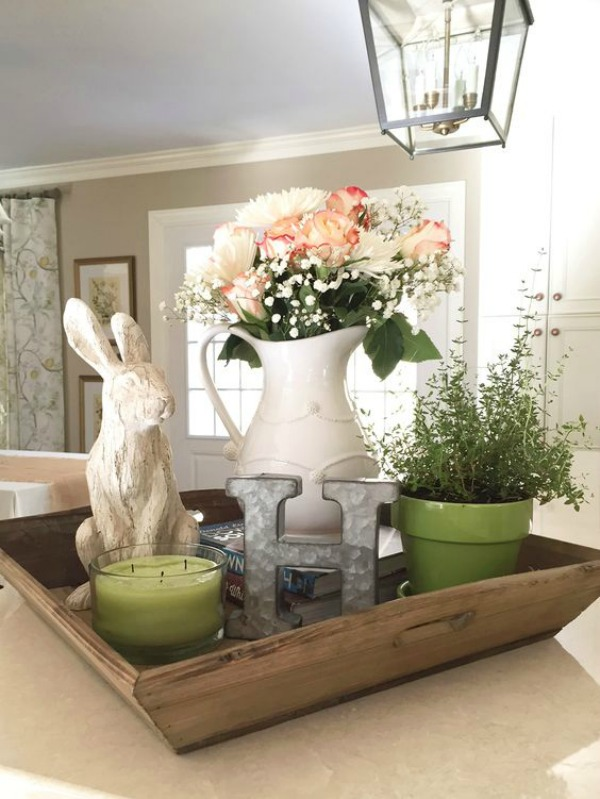 Beth Hart Designs, Easter Decor Inspiration via House of Hargrove