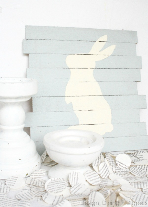 Design, Dining, Diapers, Easter Decor Inspiration via House of Hargrove