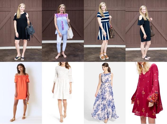 Wear it with Barrett: Dresses, White Jeans & Mi Golondrina