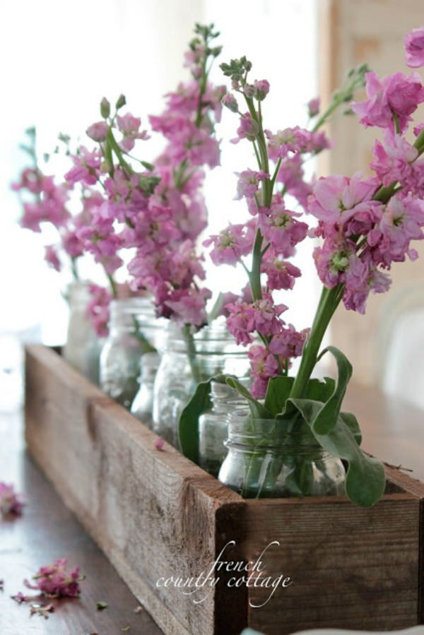 French Country Cottage, Easter Decor Inspiration via House of Hargrove
