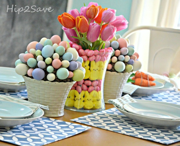 Hip 2 Save, Easter Decor Inspiration via House of Hargrove