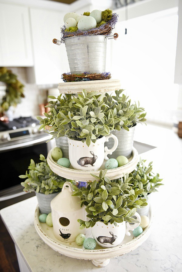 Liz Marie Blog, Easter Decor Inspiration via House of Hargrove