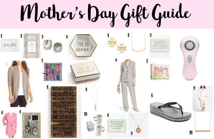 Wear it with Barrett: Mother's Day Gift Ideas