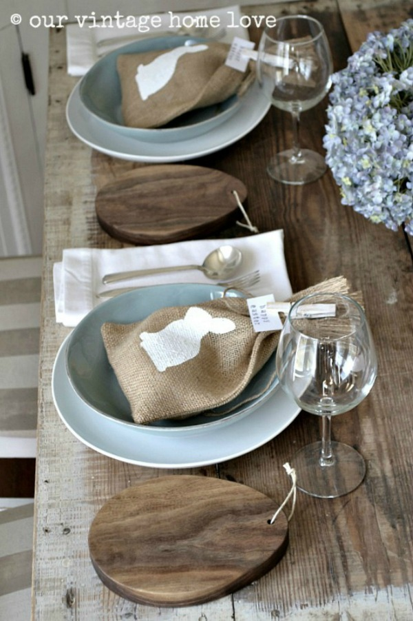 Our Vintage Home Love, Easter Decor Inspiration via House of Hargrove