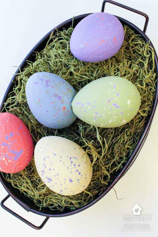 Practically Functional, Easter Decor Inspiration via House of Hargrove