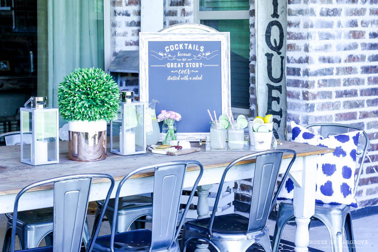 Spring Patio Makeover-the look for less