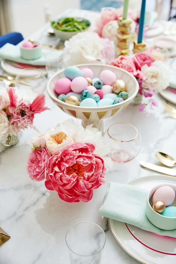 Style by Emily Henderson, Easter Decor Inspiration via House of Hargrove