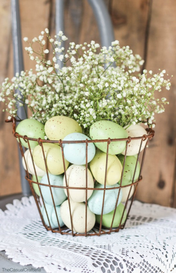The Casual Craftlete, Easter Decor Inspiration via House of Hargrove