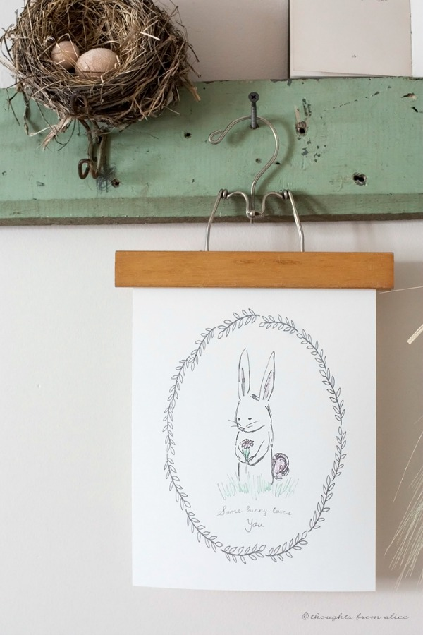 Thoughts from Alice, Easter Decor Inspiration via House of Hargrove