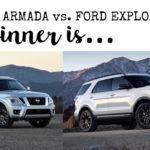 Car Shopping: Armada vs Explorer….and the winner is…