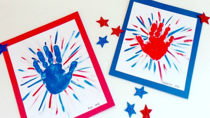 Avas Alphabet, Check out our Red White Blue Inspiration Post!