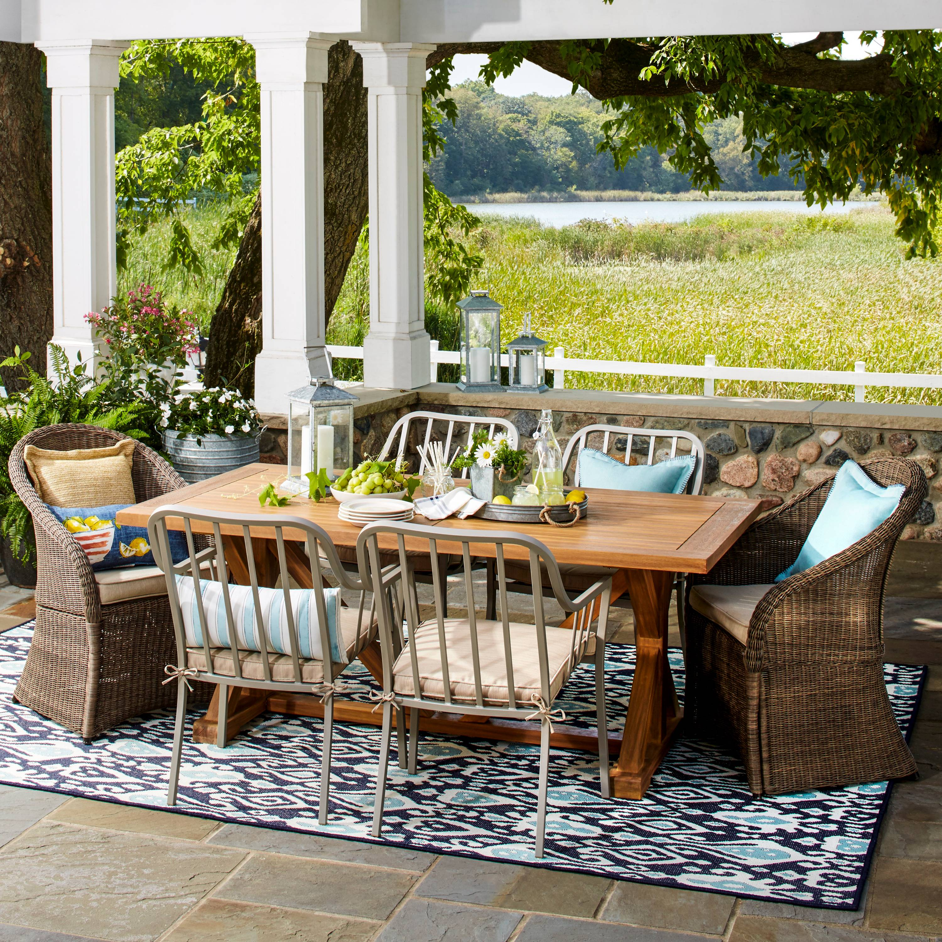Farmhouse Patio Furniture Finds House of Hargrove