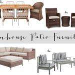 Farmhouse Patio Furniture Finds