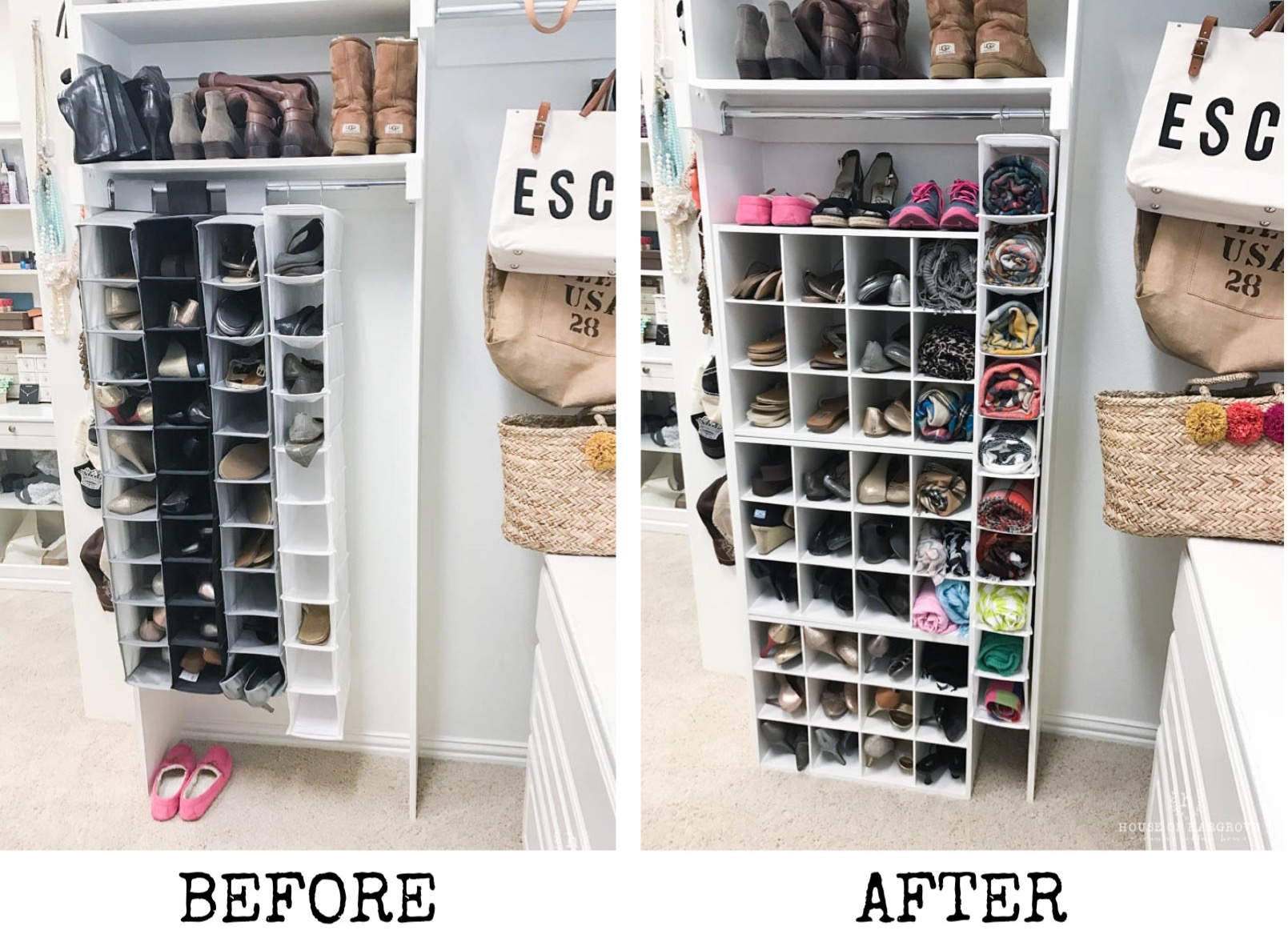 I Love My Closet Now Shoes All Have A E And This Winter Am Going To Being Able See Scarves They Used Be Shoved In Drawer