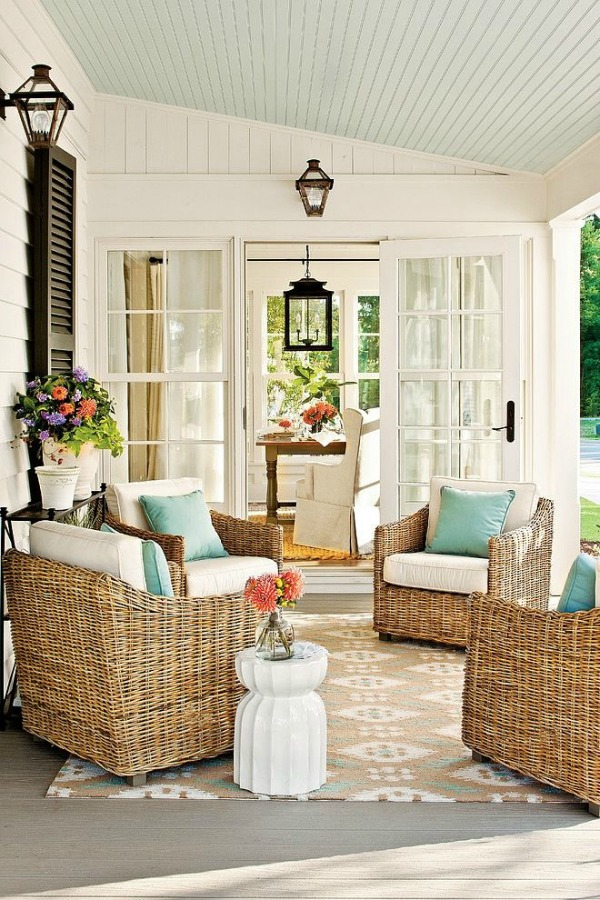 via Country Home Tours, Beautiful Outdoor Spaces