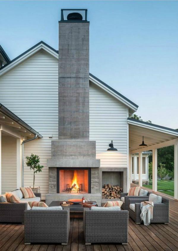 via DIY Decorator, Beautiful Outdoor Spaces