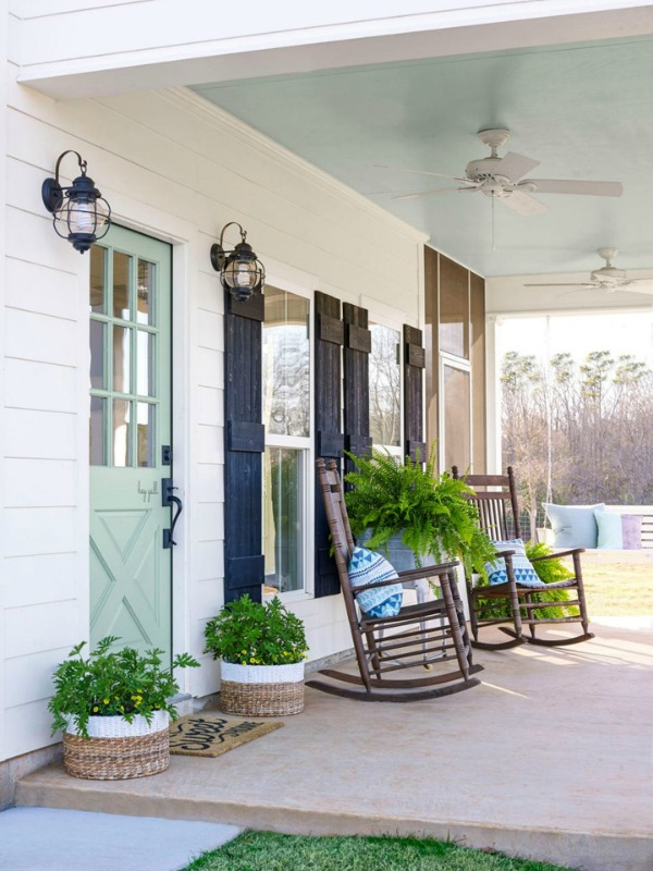 via House of Turquoise, Beautiful Outdoor Spaces