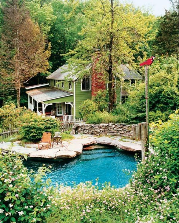 via Vogue Living, Beautiful Outdoor Spaces