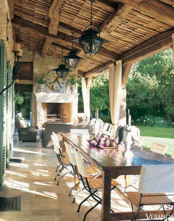 via Veranda, Beautiful Outdoor Spaces