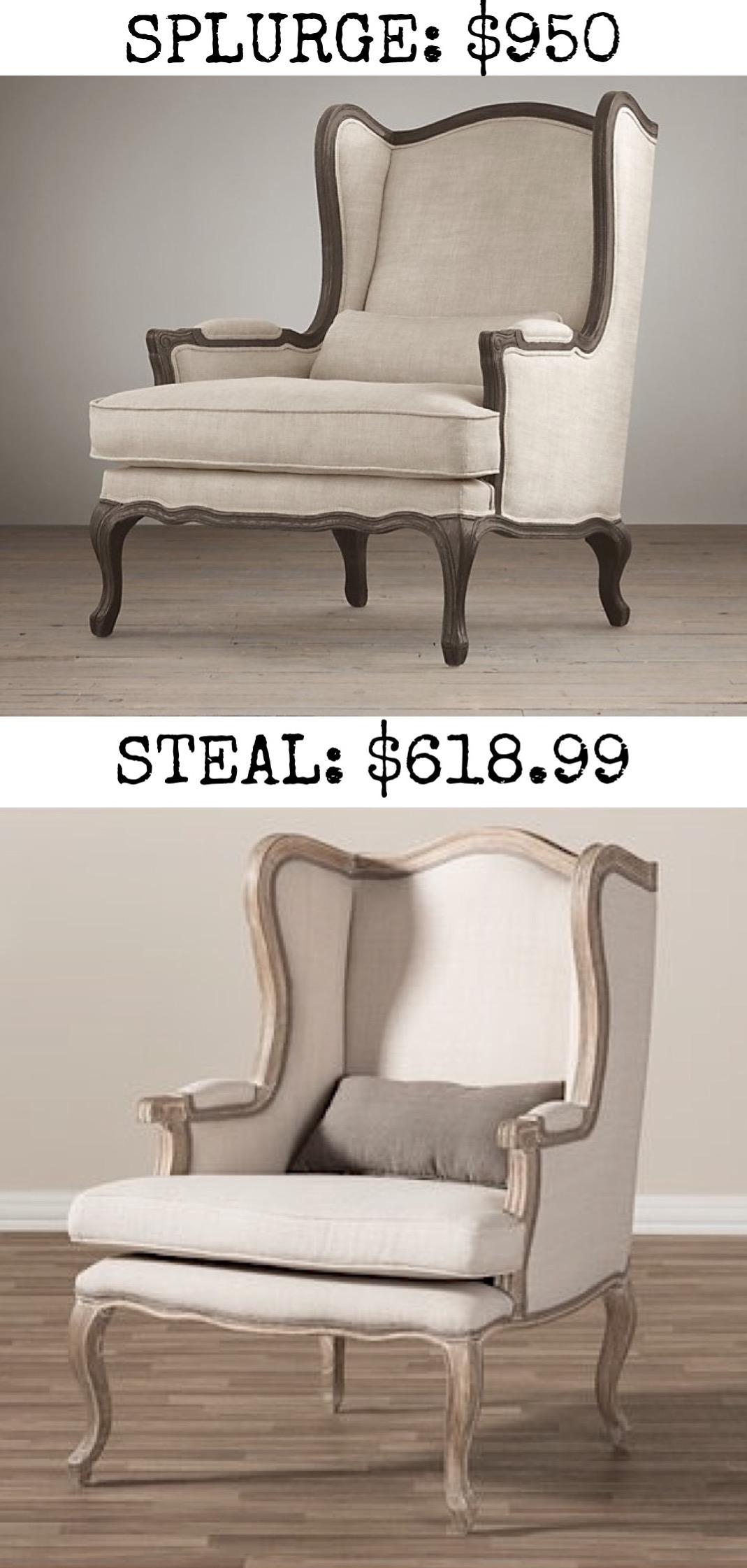 Splurge Lorraine Chair 950
