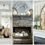 Beautiful Farmhouse Fall Mantels