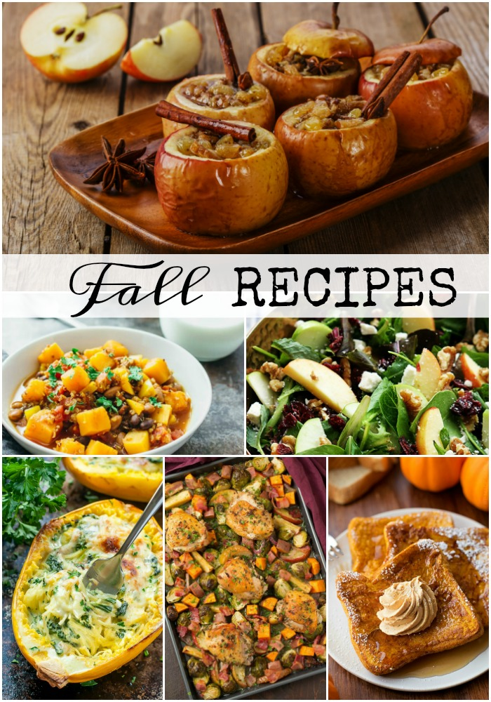Enjoy some of the flavors of fall with these Best Fall Recipes