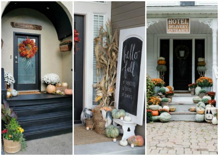 20 Beautiful Fall Porch Ideas!