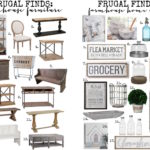 Frugal Finds: Farmhouse Furniture & Home Decor