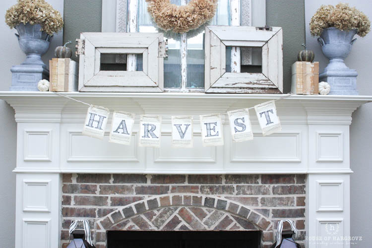 Harvest Banner Free Printable