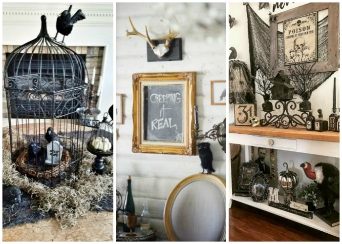 Farmhouse Halloween Decor
